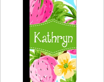 Lilly Pulitzer Inspired iPhone Flip Case