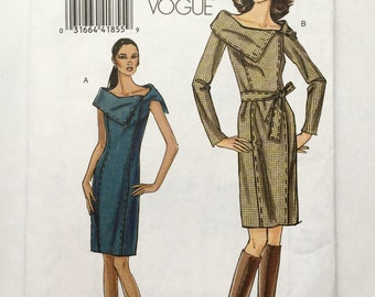 Vogue 8408 Dress  Sizes 8-14
