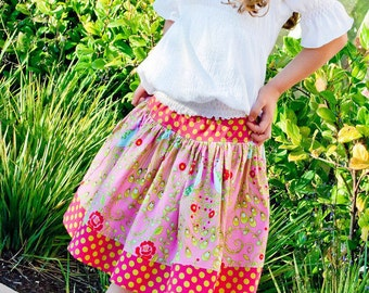 Pink Fig - The Girly Skirt - Paper Sewing Pattern