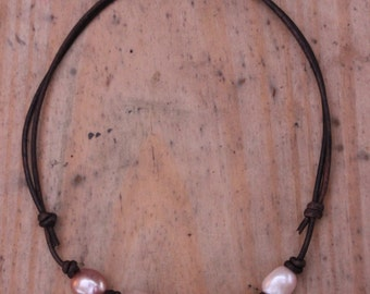 Adjustable Freshwater Pearl Necklace