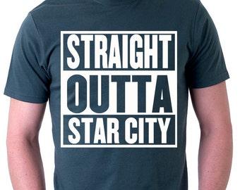 Straight Outta Star City Green Tshirt, Starling City, Arrow, Geek Gift, Geek Tshirt, Oliver Queen