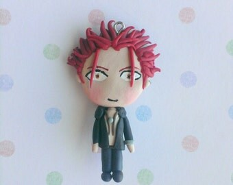 Suoh Mikoto K Project Polymer Clay Charm