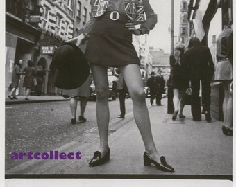 Vintage Book Image (1992): Carnaby St, London (1960's)