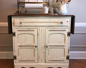 SOLD: Antique Farmhouse Kitchen Island