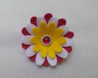 Mix Daisy Felt Flower