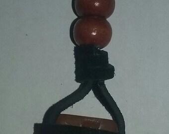 Orange Jasper Stone Necklace