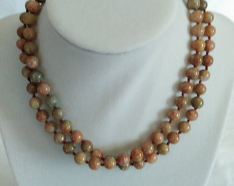 Autumn Jasper Necklace