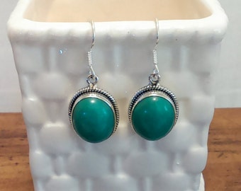 Chrysocolla Earrings