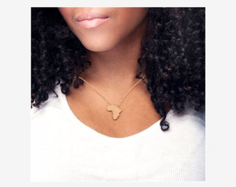 African Bamboo Necklace