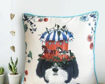 Shih Tzu gift Shih Tzu pillow cover Shih Tzu cushion cover Decorative Throw PillowCouch pillows dog lover gift dog cushion cover uk seller