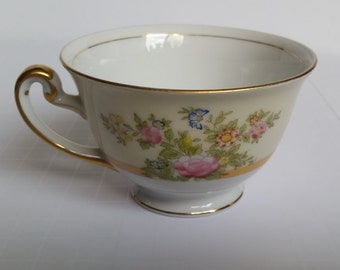 NSP China Hand Painted Teacup- Unknown Pattern