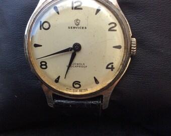 Vintage services watch