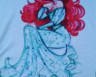 Gorgeous disney princess bling T-shirt