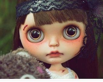 "Abused ""Xiu Xiu""Ooak Blythe custom doll"