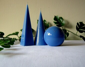 3 mini candles set