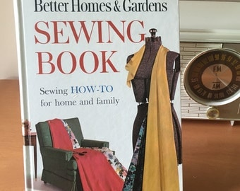 Better Homes & Gardens Sewing Book