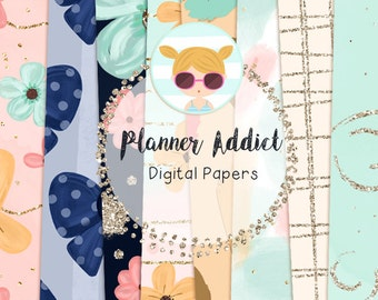 Planner Addict Digital Paper