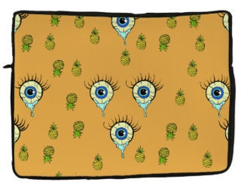 Suddenly Pineapples  Laptop Sleeves