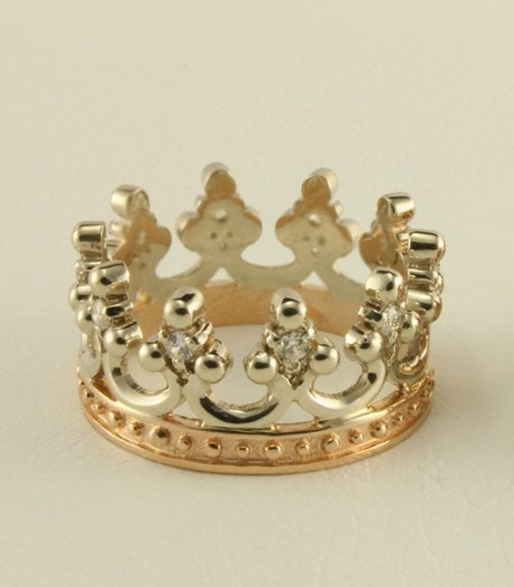 ring crown wedding band men women crown ring crown engagement ring