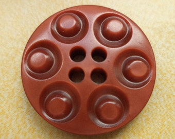 9 buttons Brown 21mm (6319) button
