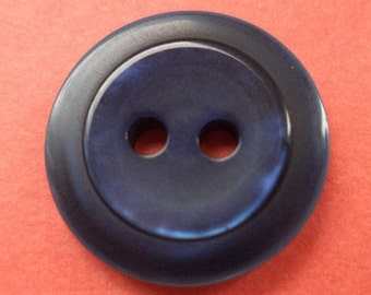11 dark blue buttons 18mm (2007) button blue