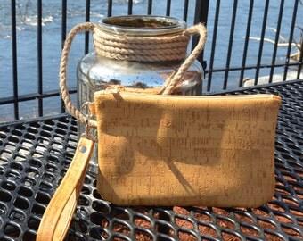 Cork Wristlet, Cork Bag, Cork Purse, Nitabag