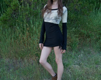 Cinched Pencil Dress - M