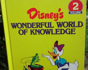Vintage Disney Wonderful World of Knowledge (Volume 2)