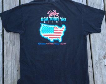 Vtg Sid Vicious 1996 Tour T Shirt