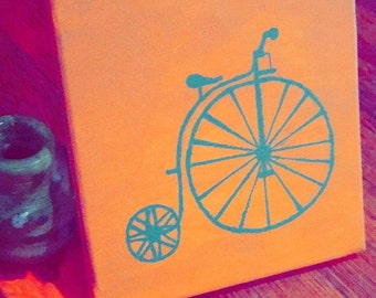 Penny farthing Painting