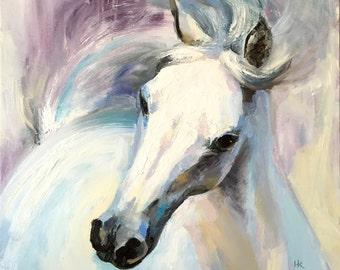White Horse Original Fine Art