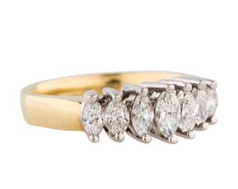 1 Carat Marquise Diamond ring
