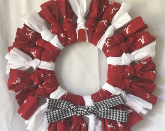 Alabama Crimson Tide Door Wreath