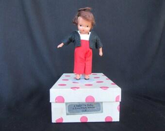 Nancy Ann Storybook Doll #112 Boy, A Dillar-A Dollar, Bisque Nancy Ann Storybook Doll in Box