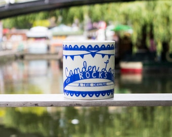 Camden Lock Printed Mug