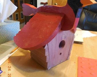 Redbird Bird House