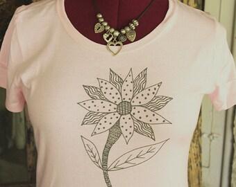 Flower Doodle T-Shirt