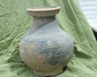 """Ancient Chinese  """"Hue"""" Storage Vessel"""