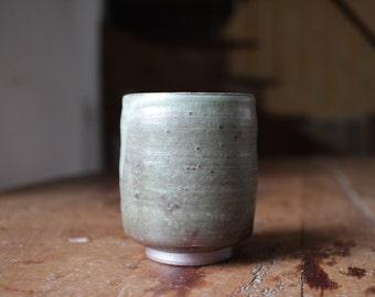 Cup  //  green  //  ceramic  // stoneware