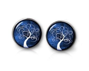 Tree of Life Stud Earrings Tree of Life Earrings Tree of Life Jewelry