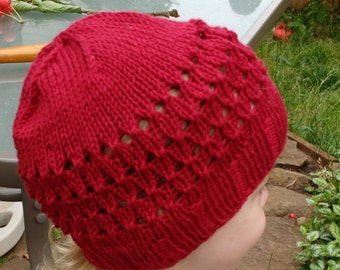 Little Red Knit Cotton hat