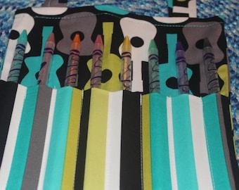 Groovy Rock Star Art Tote Bag