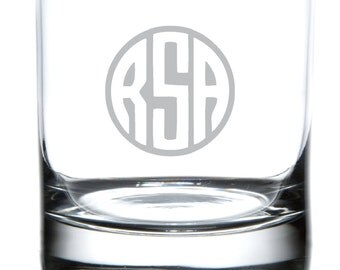 Monogrammed Glassware