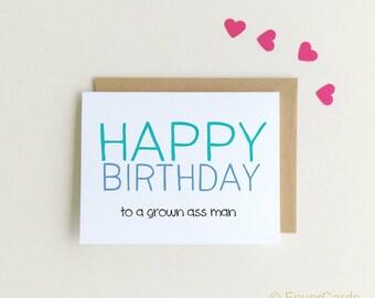 Funny Birthday Card | Happy Birthday | Birthday Card for Him| Birthday Card for Brother| Funny Cards |  Birthday Card {SKU: FC139}