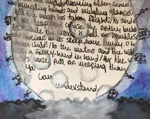 W B Yeats The Stolen Child Poetry Watercolor