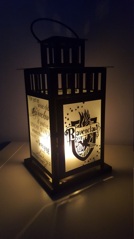 Medium Harry Potter Inspired Hogwarts Ravenclaw House Lantern