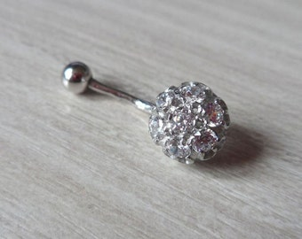 Belly Button Ring Cluster Belly Ring Body Jewelry Belly Jewelry Belly Piercing