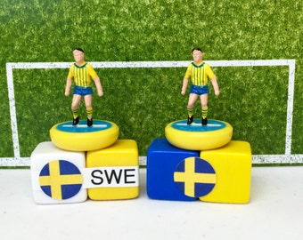 Sweden Soccer Figurine / Miniature (Subbuteo) Magnet