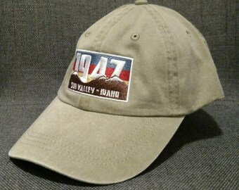 Sun Valley Idaho 1947 Dad Hat / Cap