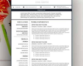 modern resume template modern resume design for word 12 page resumes - Resumes Template